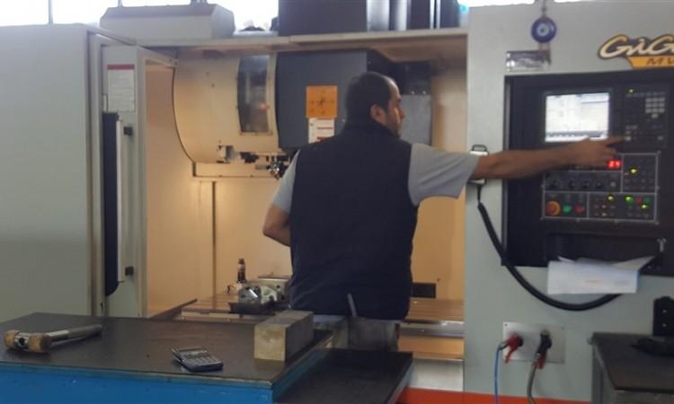 4 Eksen CNC  Dik İşlem